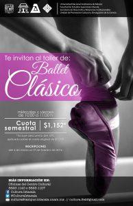 Cartel Taller Ballet Clásico (1)