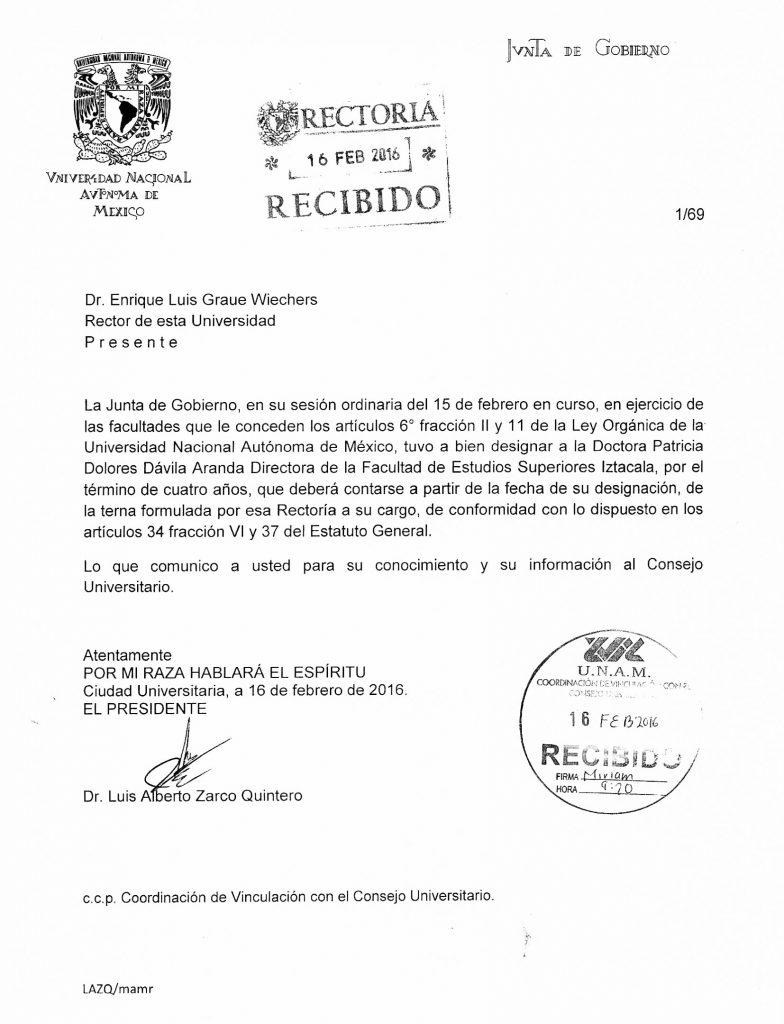 designacion-FES-Iztacala-2016