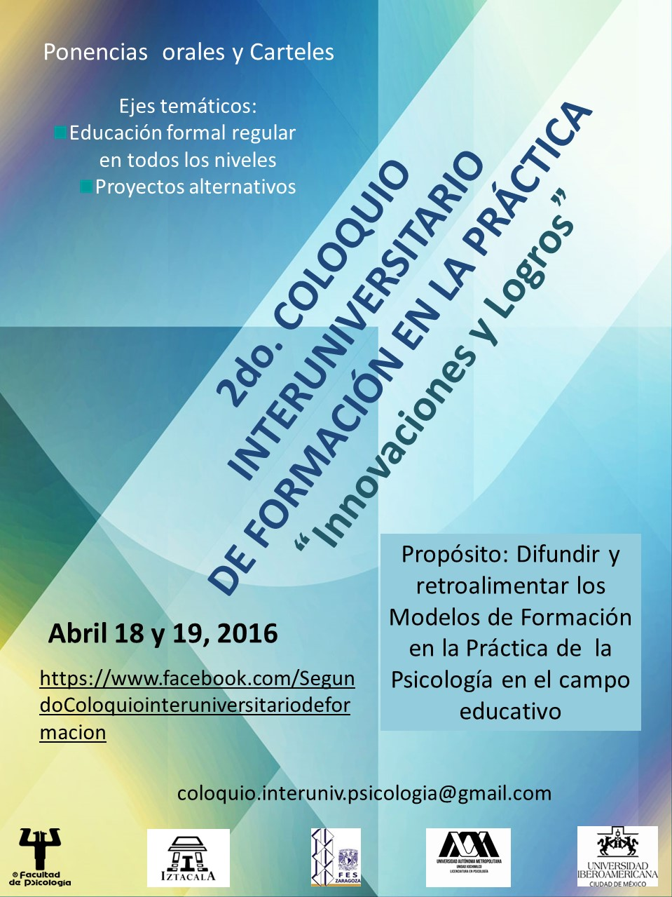 Cartel Area de educativa