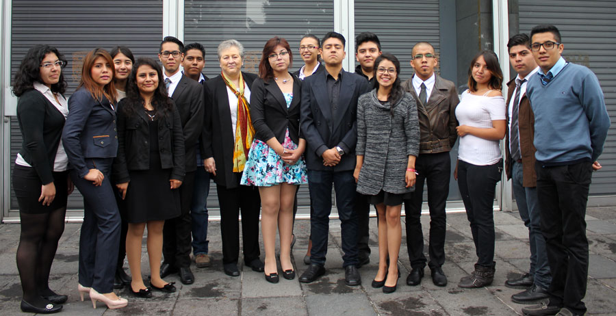 La FESI presente en la Ceremonia de Apertura del Ciclo Escolar de la UNAM