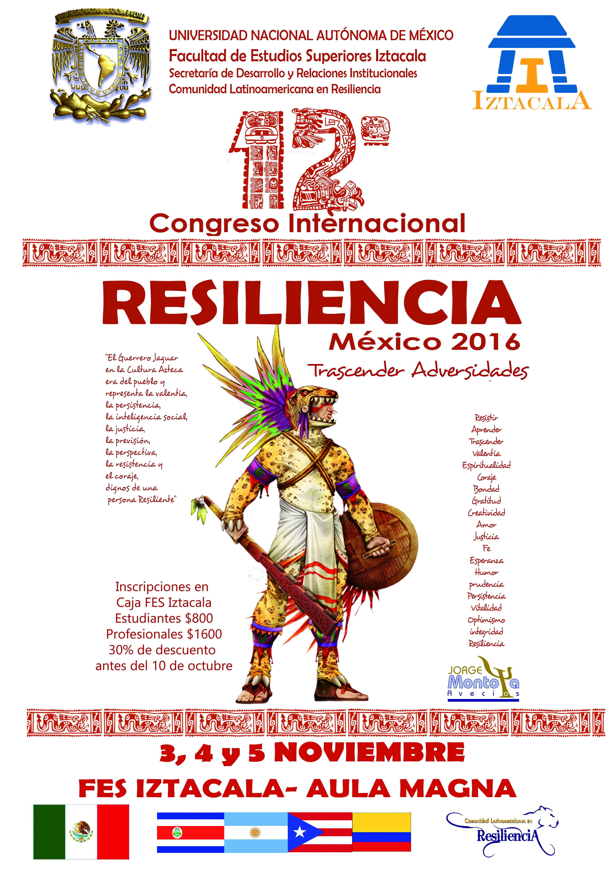 12avo. Congreso Internacional de Resiliencia
