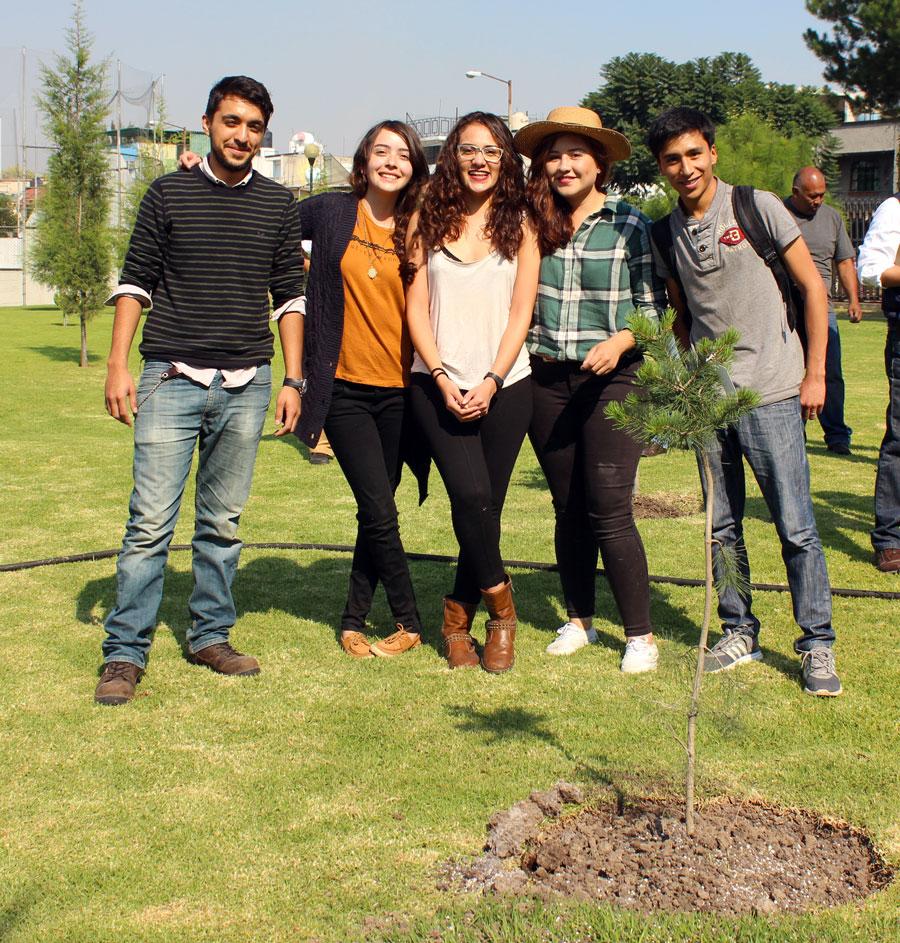 Hoy sucedió la Campaña de Reforestación FES Iztacala 2016
