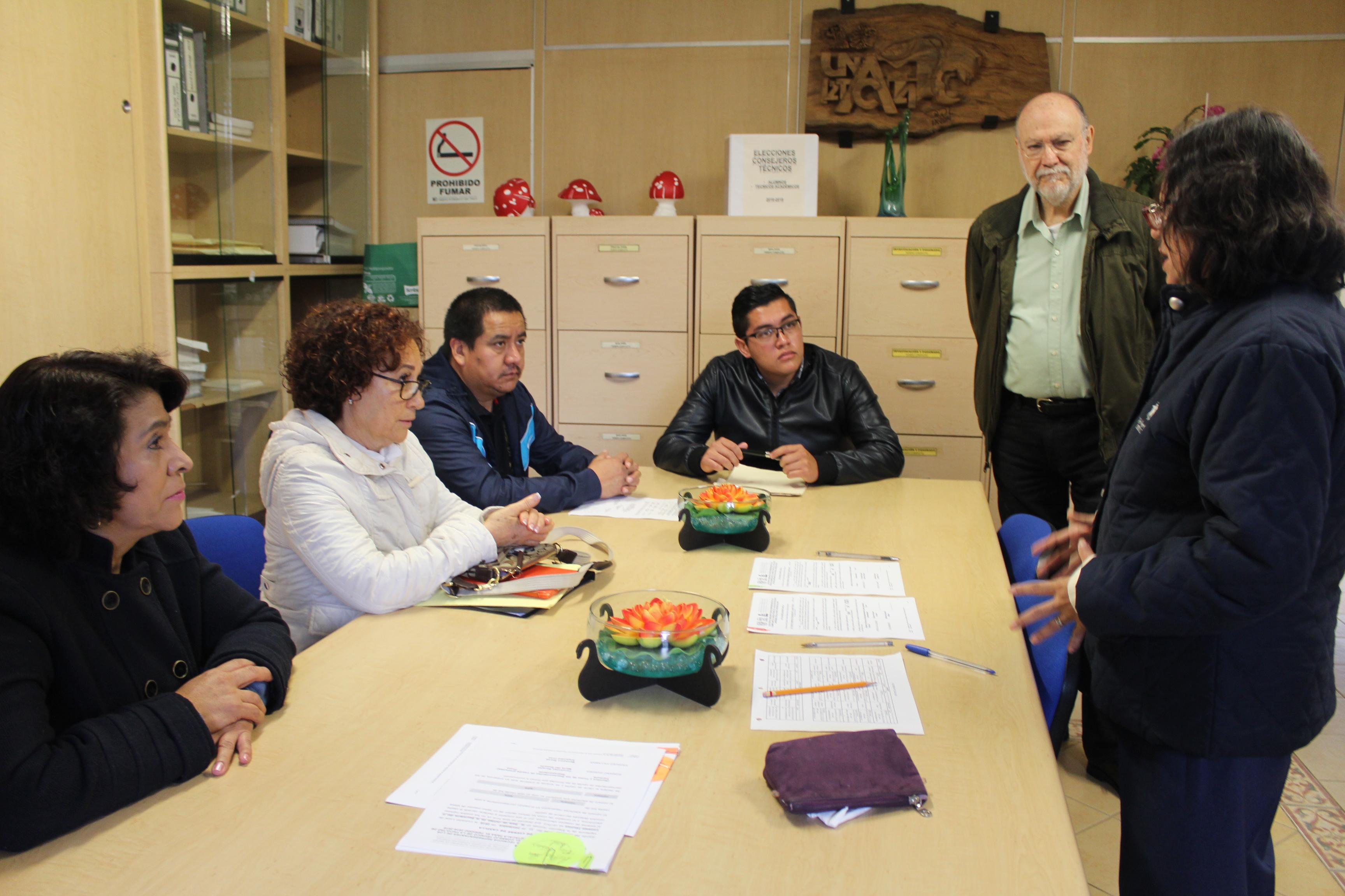 Elección de representantes estudiantiles y Técnicos Académicos ante el H. Consejo Técnico