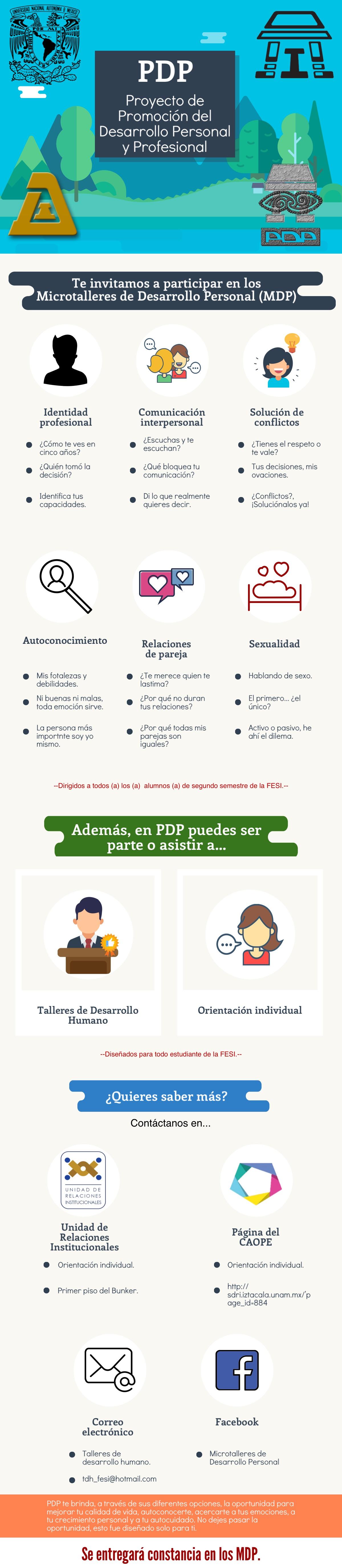 Proyecto de Promoción del Desarrollo Personal y Profesional (PDP)