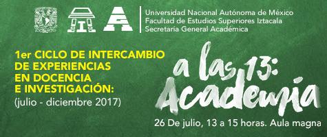 1er. Ciclo de Intercambio de Experiencias en Docencia e Investigación