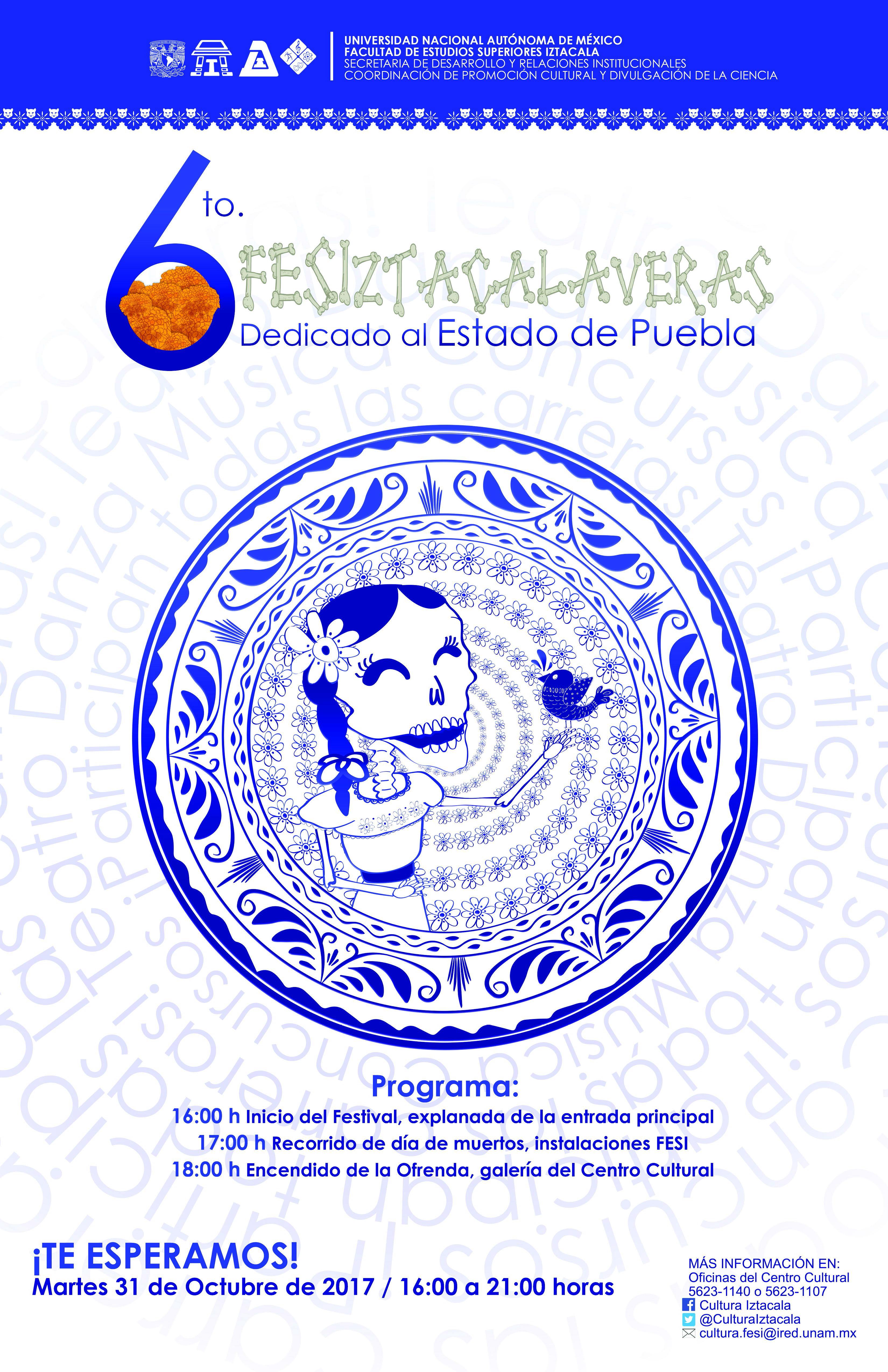 Sexto FESIztacalaveras 2017