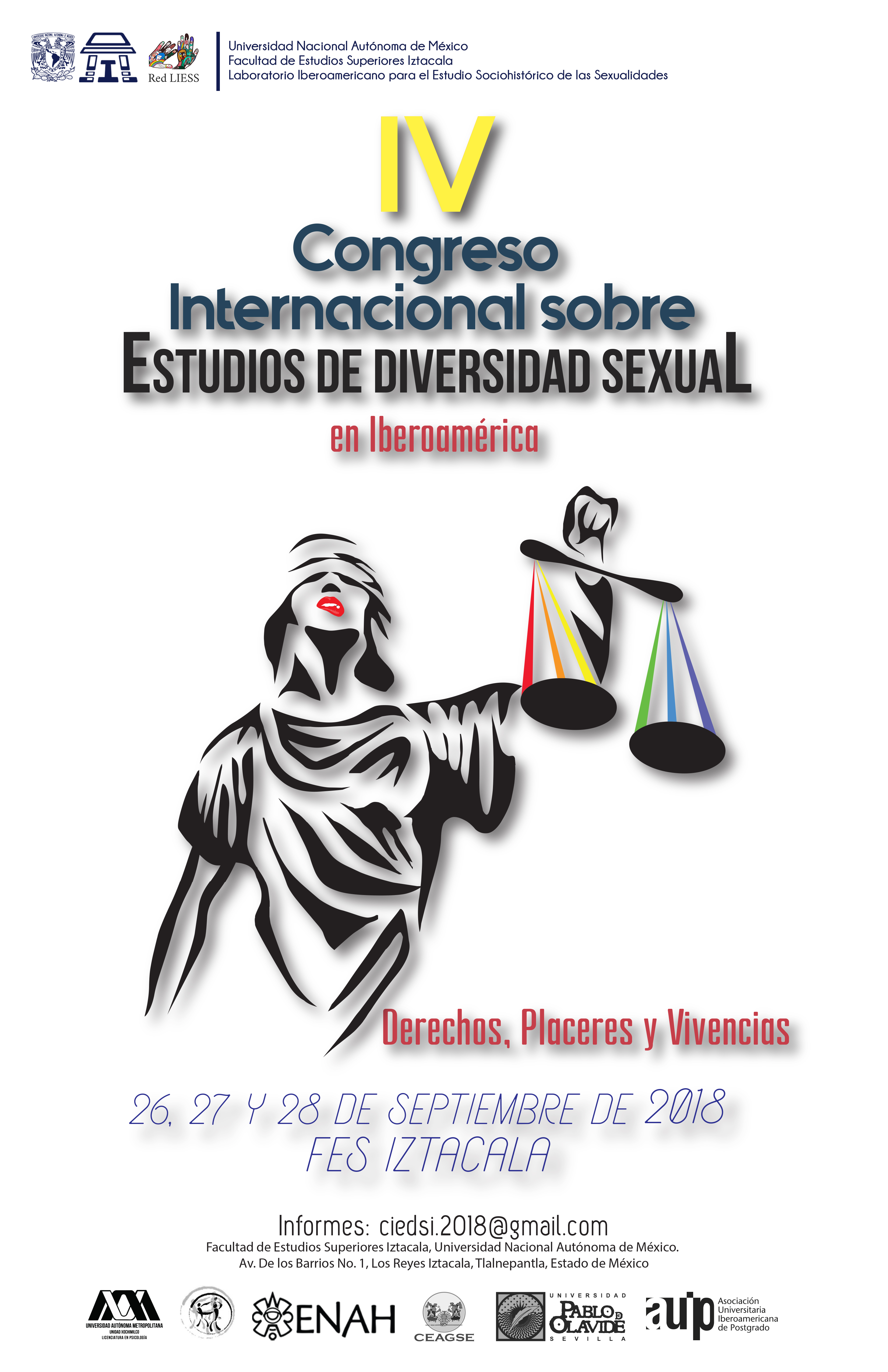 CARTEL IV Congreso_Diversidad Sexual_2018